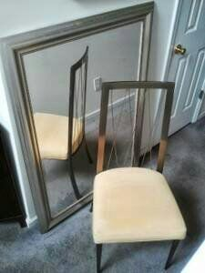 Z Gallerie Desk Chair in Stone Mountain, GA (sells for $65)