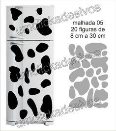 Adesivo de Geladeira Manchas De Vaca 05