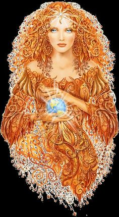 Gaia was the great Mother Goddess of Greek Mythology. A lot of people think of Gaia as mother nature.or the Goddess of the Earth itself. Earth Goddess, Goddess Art, Aphrodite Goddess, Celtic Goddess, Goddess Tattoo, Greek Gods And Goddesses, Greek Mythology, Mother Goddess, Sacred Feminine