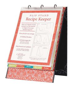 Look what I found on #zulily! Recipe Keeper Stand #zulilyfinds