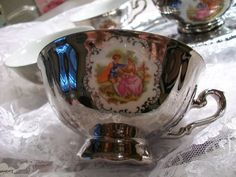 Rieber Bavarian German Tea Set by THEPARISBOUTIQUE on Etsy, $75.00