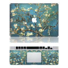 flowers macbook pro decals mac pro stickers di magicappleshop, $16.88