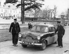 Emergency Vehicles, Police Vehicles, British Police Cars, Dublin Street, Dublin Ireland, Old Trucks, Cops, Car Ins, Old Photos