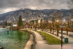 Gilgen on the Wolfgangsee in Austria - Jeffsetter Austria, Scenery, City, Awesome, Vacations, Travelling, Photograph, Tea, Beautiful