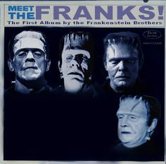 Just for laughs. Monster Mask, Frankenstein's Monster, Monster Party, Cool Monsters, Famous Monsters, Classic Monsters, Classic Sci Fi, Classic Horror Movies, Horror Movie Characters
