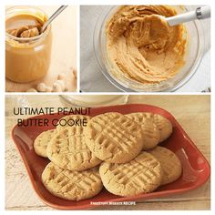I've tried many recipes, but this is one of my favorites. Try it out and let me know what you think in the comments section below! Food Website, Biscuit Recipe, Peanut Butter Cookies, Baked Goods, Cookie Recipes, Biscuits, Recipies, Sweets, Baking