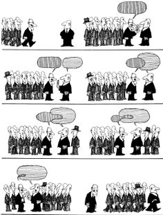 Quino - Potentes, prepotentes e impotentes (Powerful, Arrogant and Impotent) Pen Name, Everything And Nothing, Political Art, Humor Grafico, Salvador, Cartoon Art, Comic Strips, Abraham Lincoln, Comic Art
