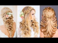 The Most Beautiful Hairstyles Tutorials June 2017 - YouTube