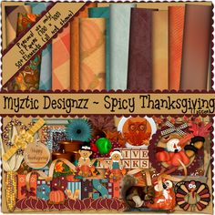 TheTaggersLounge: Scrappers November Challenge - Spicy Thanksgiving