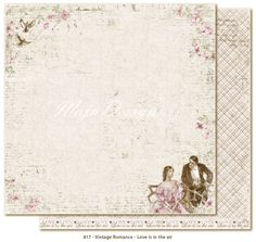 Maja Design - Vintage Romance - Love Is In The Air now available at The Rubber Buggy