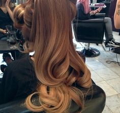 Ombre updo