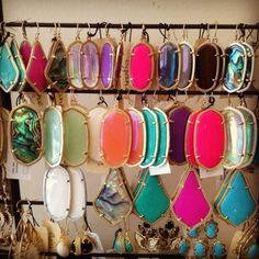 Can I have all of those Kendra Scott earrings, please?