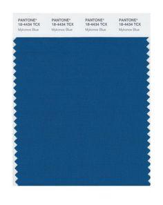 "Pantone 18-4434 ""Mykonos Blue"""