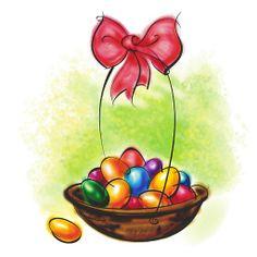 Imagenes de huevos de pascua para imprimir-Imagenes y dibujos para imprimir