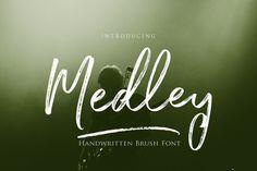 Medley Brush Script By Joelmaker