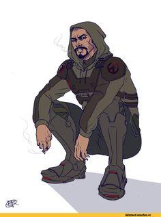 Reaper (Overwatch),Overwatch,Blizzard,Blizzard Entertainment,фэндомы,Overwatch art