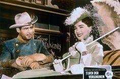 HORIZONS WEST (1952) - Robert Ryan & Julie Adams - Directed by Budd Boetticher - Universal-International - Lobby Card.