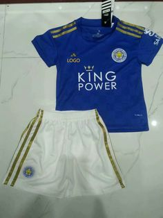 AAA Quality Leicester City home Children Soccer jersey Football Uniforms, Football Kits, Soccer Jerseys, King Power, Leicester, Baby Kids, Crop Tops, City, Children