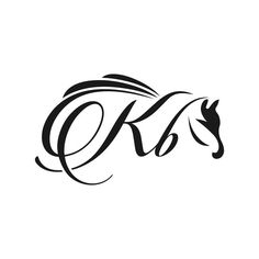 Marca Do Logótipo Do Cavalo Kb Letter M Logo, Letter V, Initial Letters, Monogram Tattoo, Monogram Logo, Wave Design, Key Design, Logo Design Template, Logo Templates