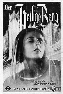 The Holy Mountain (German: Der heilige Berg) is a 1926 German mountain film directed by Arnold Fanck and starring Leni Riefenstahl, Luis Trenker and Frida Richard. It was the future filmmaker Riefenstahl's first screen appearance as an actress.