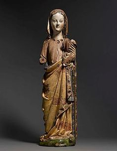 C. late 13th century, Virgin and Child