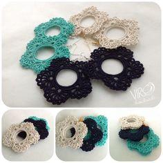 orecchini crochet ;)