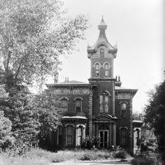 CO, Globeville, Hindry Mansion - in 1873 John Hindry built a country home away from the grime and noise of frontier Denver. At the start of the new century his fortune took a downturn, his wife and a son died and he was soon alone in the house. He moved on to California in 1906.