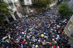 25 Heartbreaking Images From The Silent March In Buenos Aires