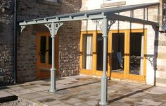 Top Quality Bespoke Glass Verandas from Nationwide. With traditional, contemporary and classic Veranda designs. Further customise your Veranda with Sun Screens & Sliding Glass Walls Wood Pergola, Pergola Swing, Outdoor Pergola, Pergola Kits, Carport Ideas, Pergola Ideas, Pergola Attached To House, Pergola With Roof, Pavillion