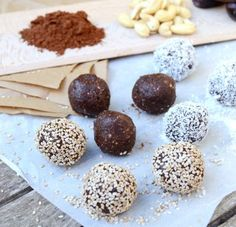 energy balls bienfaits sante