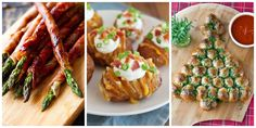 58 Thanksgiving and Christmas Appetizer Recipes - Holiday Appetizer Ideas (christmas finger foods easy) Best Holiday Appetizers, Finger Food Appetizers, Thanksgiving Appetizers, Finger Foods, Appetizer Recipes, Holiday Recipes, Appetizer Ideas, Italian Appetizers, Vegetarian Appetizers