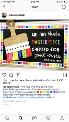 Created for good works. Religious Bulletin Boards, Bible Bulletin Boards, Christian Bulletin Boards, Winter Bulletin Boards, Back To School Bulletin Boards, Bulletin Board Ideas For Church, Sunday School Rooms, Sunday School Classroom, Sunday School Crafts