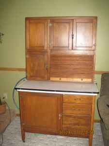 hoosier cabinet for the dining room