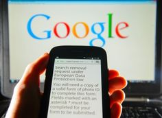 """Google removes BBC article link A blog post by BBC economics editor Robert Peston is removed from Google's European search results following """"right to be forgotten"""" ruling."""