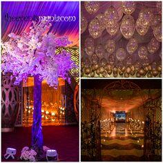Dubai wedding lighting design at Atlantis Asateer tent