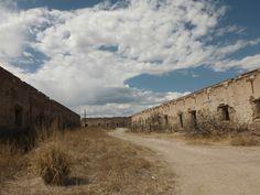 Antiguas casas de trabajadores en Hacienda de San Diego. Casas Grandes.Chih,Mex