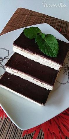 Domáce Mila rezy (fotorecept) - recept   Varecha.sk Cookie Bars, Tiramisu, Rum, Treats, Cookies, Ethnic Recipes, Food, Bar Recipes, Kitchens
