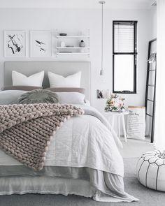 Cores que não falham na decoração: paredes pintadas de branco