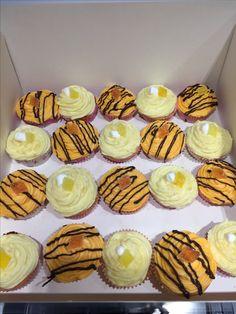 Oranges and Lemons cupcakes