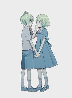 Anime Siblings, Anime Child, Cute Anime Couples, Kawaii Art, Kawaii Anime Girl, Anime Art Girl, Cute Anime Character, Character Art, Character Design Challenge
