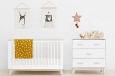 Looking for nursery furniture with a contemporary feel? Babyletto cots, change tables and dressers offer a sublime, but functional range of nursery furniture at an affordable price. Nursery Furniture, Nursery Decor, Cots, Cardboard Packaging, Scandi Style, Showcase Design, Color Splash, Storage Spaces, Toddler Bed