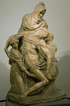 Michelangelo's Pieta en el museo del duomo- one of my favorite museums in Florence.