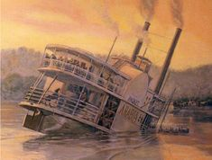 In 1856, the supply-laden Steamboat Arabia hit a log and sank. Its remains were never found ... until now.