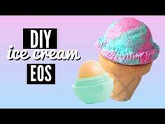 DIY ice cream EOS - #diyicecream #eos #lipbalm