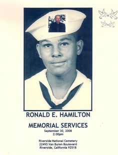 Rip Ronald Hamilton  Uncle