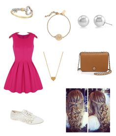 """""""Untitled #183"""" by ponyboysgirlfriend ❤ liked on Polyvore featuring Kate Spade, Wet Seal, Ross-Simons, Tory Burch and Minnie Grace"""