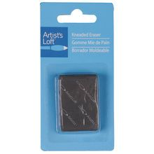 This traditional kneaded eraser is excellent for removing or highlighting pencils, chalks, charcoal and pastels. It kneads into any shape, removes marks clearly and leaves surfaces smooth and bright.
