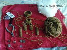 Мастер-класс: шплинтовое крепление деталей игрушки | Ярмарка Мастеров - ручная работа, handmade