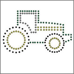 Tractor String Art Template, FREE PDF available at http://www.horizonequip.com/connect-with-us/horizon-farm-kids.aspx