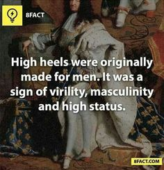 interesting facts! I'd love to see guys wear them today, it'd be pretty funny to watch some of them.